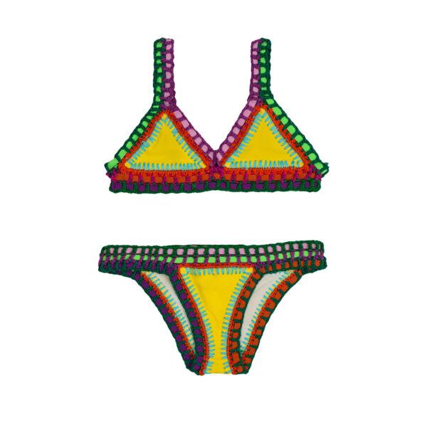 Neon Party Kids Swimwear