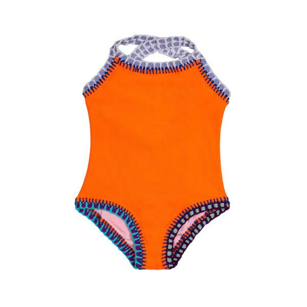 Peachy Neon Body Kids Swimwear